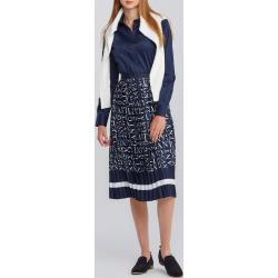 Dámske Plisované sukne Gant viacfarebné na zips