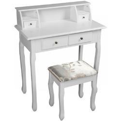 Toaletný stolík Rodes new, biela