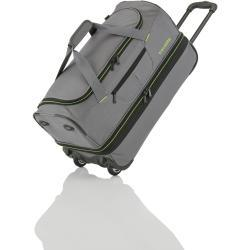 Travelite Basics Wheeled duffle S Grey/green 51/64 l