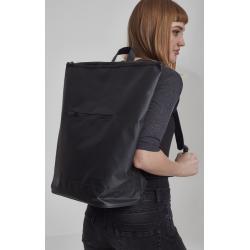 Urban classics Messenger Backpack Coated black - UNI
