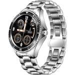 Watch, smartwatch Men 4S silver-black, steel N/A