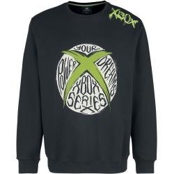 Xbox - Logo - Bavlnené tričko - čierna